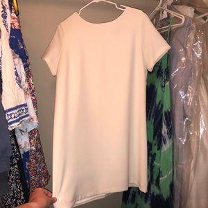 White Lulu's Shift Dress